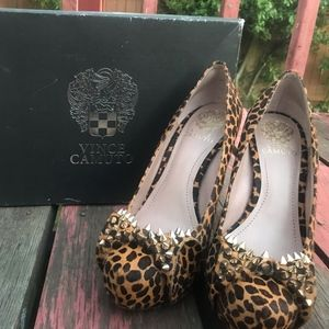 Vince Camuto Spiked Pumps